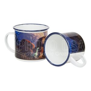 12 oz. Sublimation Fine Enamel Mug