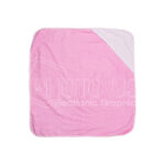 Sublimation Baby Hooded Towel (Rose Red)