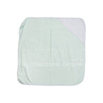 Sublimation Baby Hooded Towel (light blue)