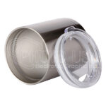 10 oz. Stainless Steel Lowball Tumbler 2