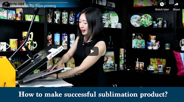 How to make successful sublimation products.