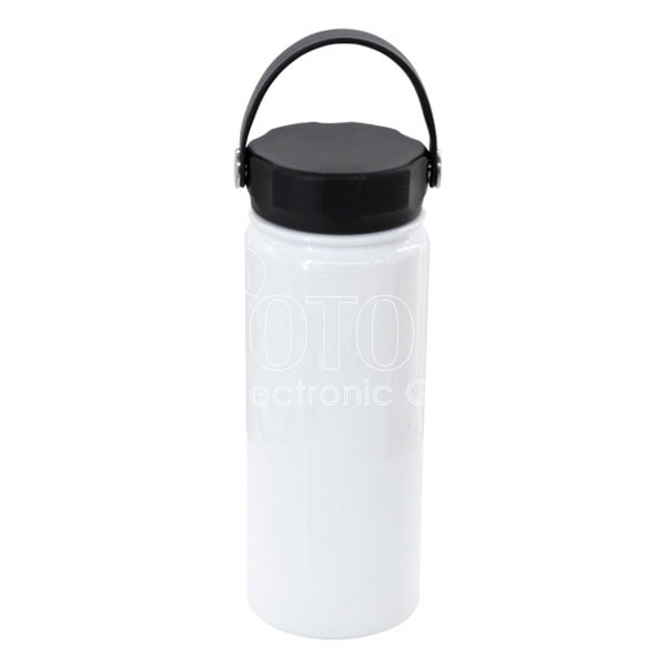 550 ml stainless steel water bottle with swivel handle photo usa electronic graphic inc photo usa electronic graphic inc