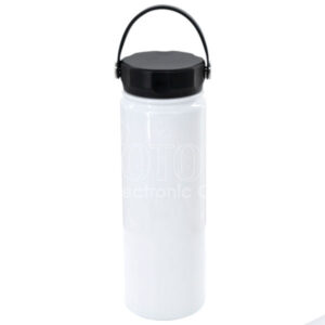 650 ml Stainless Steel Water Bottle w/ Swing Handle