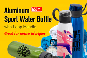 Aluminum Sport Water Bottle
