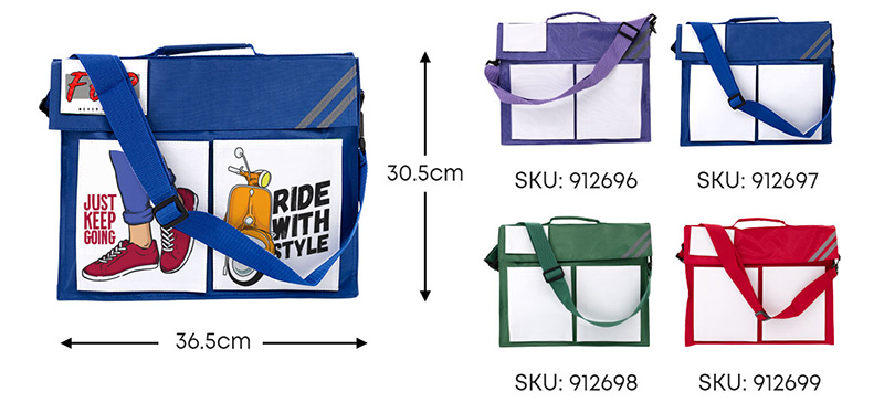 Sublimation Messenger Bag from PhotoUSA