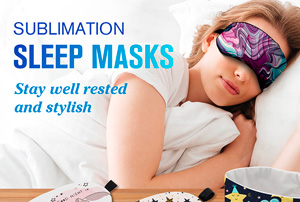 sublimation Sleep Mask