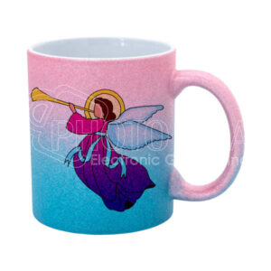 11 oz. Glitter Mug in Ombré colors