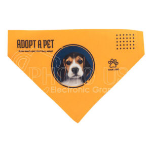 Personalised Dog Bandana with Black Strap