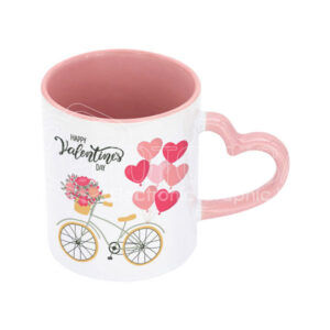 11 oz. Personalized Two-Tone Lovers Mug