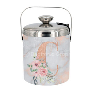 Sublimation Stainless Steel Ice Bucket