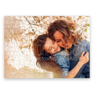 Personalize Puzzle by sublimation