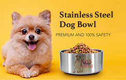 Stainless Steel Dog Bowl
