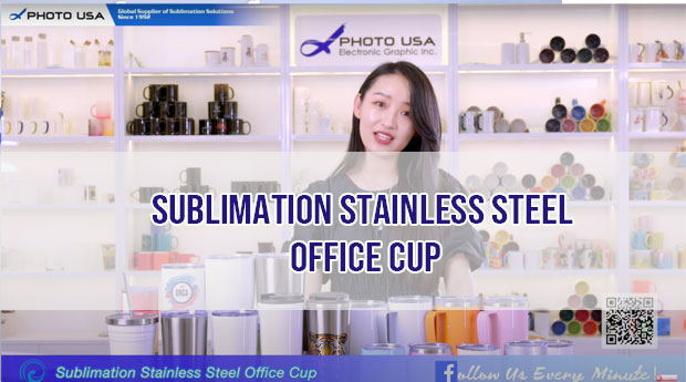 sublimation Stainless Steel Office cups
