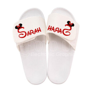 Sublimation Felt Home Slippers with PVC Sole