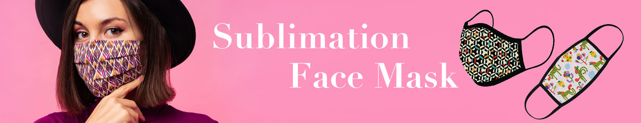 Sublimation Face Mask from Photo USA
